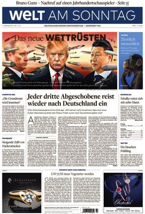 WELT AM SONNTAG Berlin - ePaper;