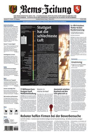 Rems-Zeitung - ePaper;