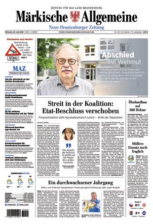 MAZ Neue Oranienburger Zeitung - ePaper;