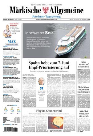 MAZ Potsdamer Tagesszeitung  - ePaper;