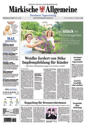 MAZ Potsdamer Tagesszeitung
