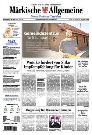 MAZ Neuer Granseer Tageblatt
