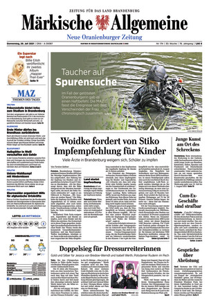 MAZ Neue Oranienburger Zeitung
