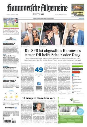 Hannoversche allgemeine zeitung anzeigen bekanntschaften