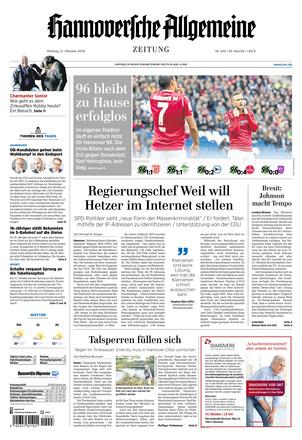 Hannoversche Allgemeine Zeitung - ePaper;